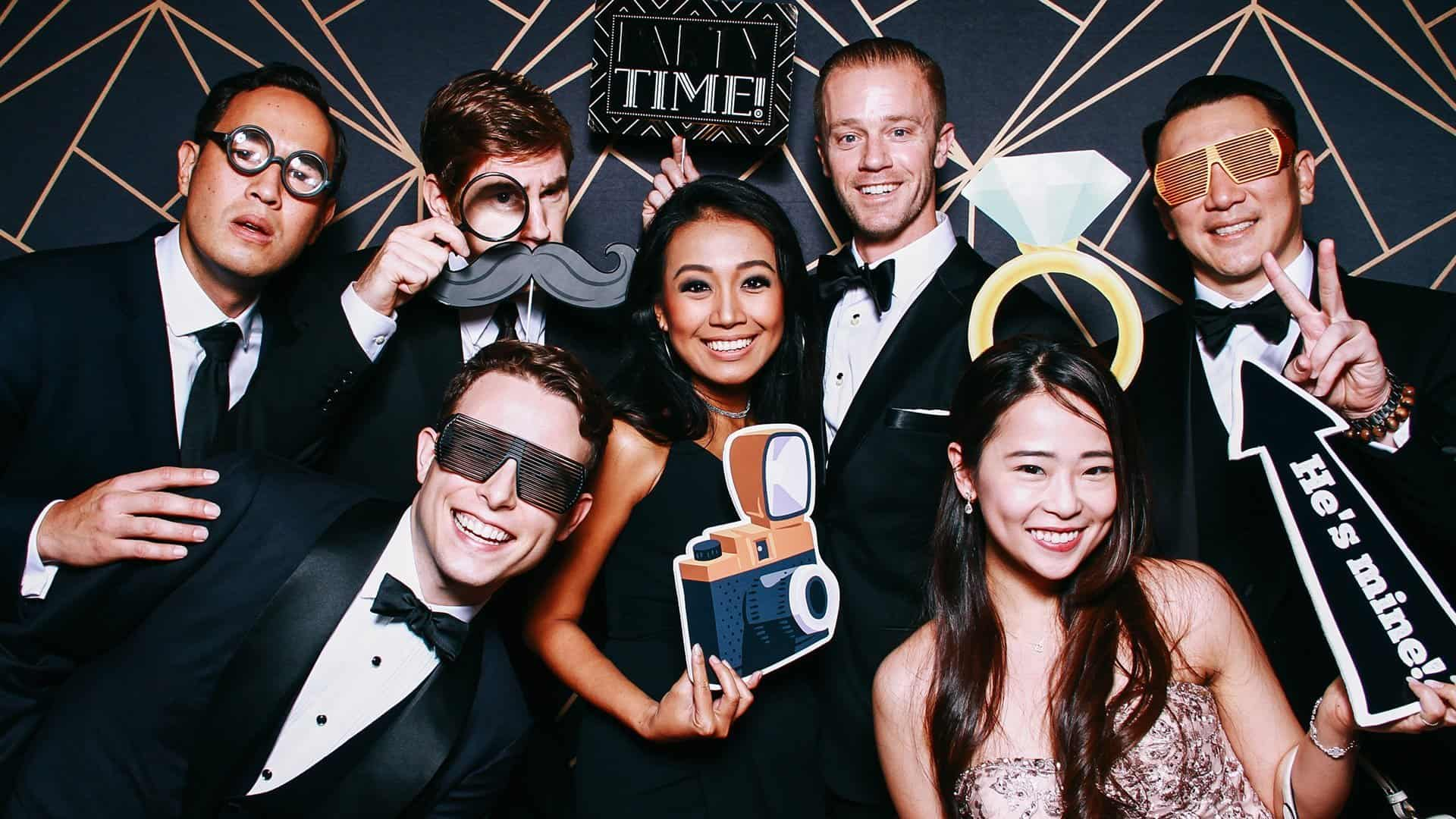 Classic Style Corporate Photo Booth